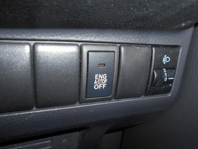 アイドリングストップです。燃費向上に貢献します。