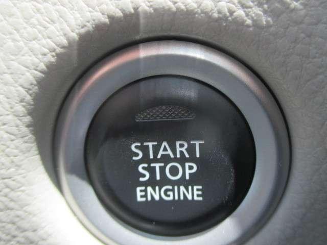 プッシュエンジンスターターでカギを取りださなくても、らくらくエンジン始動♪