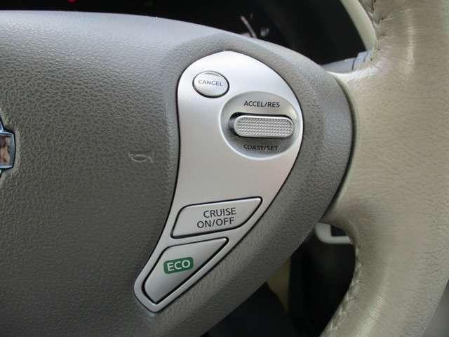 ◆◆◆クルーズコントロール装置(ASCD)付きで車速を一定にコントロールするので高速道路のエコドライブに貢献、運転の疲労も軽減します。