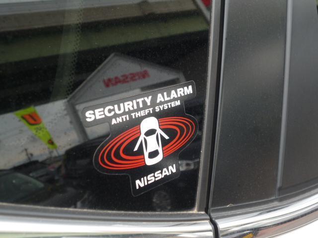 セキュリティー付きで夜間の駐車も安心!