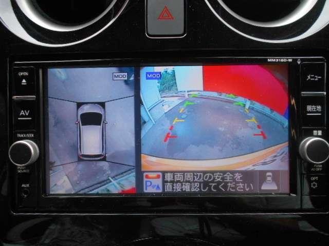 e-POWER X アラウンドビューモニター(5枚目)