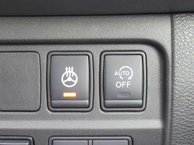 ハンドルヒーターのスイッチです。