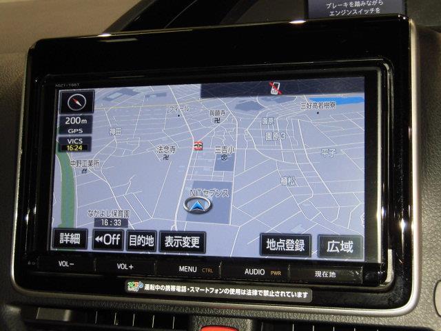Gi ブラックテーラード 4WD フルセグ メモリーナビ DVD再生 ミュージックプレイヤー接続可 バックカメラ 衝突被害軽減システム ETC 両側電動スライド LEDヘッドランプ 乗車定員8人 3列シート(9枚目)