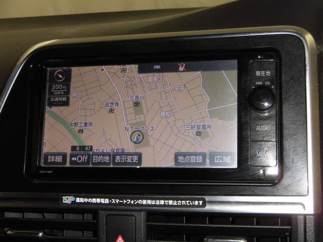 G フルセグ メモリーナビ DVD再生 ミュージックプレイヤー接続可 後席モニター バックカメラ 衝突被害軽減システム ETC 両側電動スライド 乗車定員7人 3列シート アイドリングストップ(11枚目)