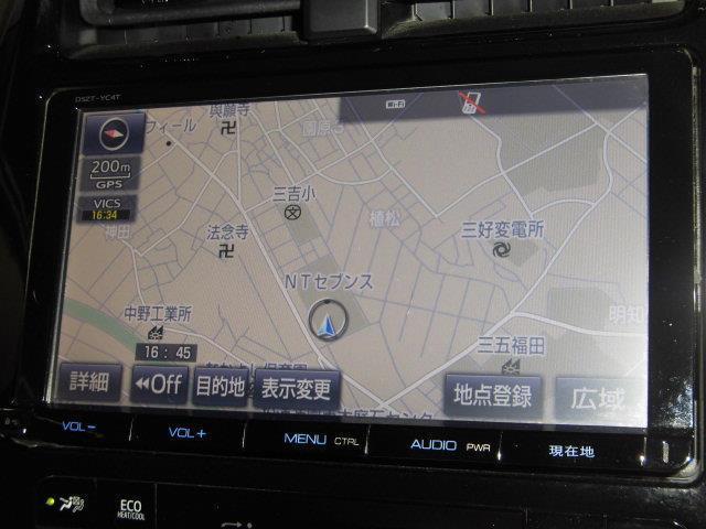 A フルセグ メモリーナビ DVD再生 ミュージックプレイヤー接続可 バックカメラ 衝突被害軽減システム ETC LEDヘッドランプ アイドリングストップ(9枚目)