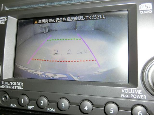 スズキ パレットSW XS バックカメラ