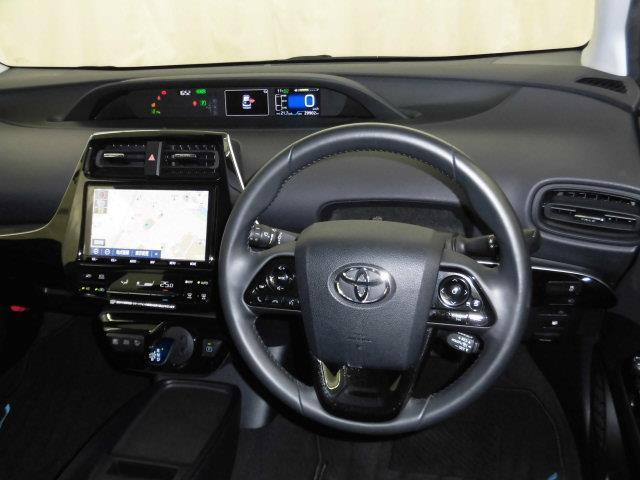 S トヨタセーフティセンス T-conecctナビ9インチモデル DVD再生 ミュージックプレイヤー接続可 バックカメラ  ETC LEDヘッドランプ アイドリングストップ(4枚目)