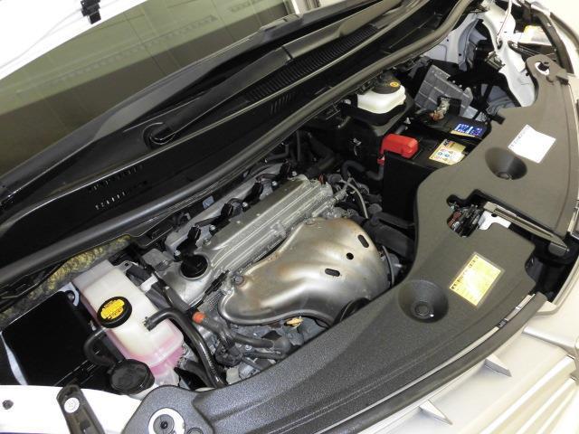 「スマイルクリーン」では、普段は見えないエンジンルームも手を抜きません! 徹底的なクリーニングとともに不具合のチェックもしています!