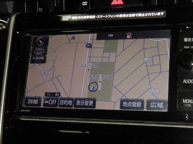 プレミアム スマートキ LEDヘッド 純正SDナビ 地デジフルセグTV DVD再生 バックガイド付モニター ビルトインETC 運転席パワーシート パワーバックドア クルーズコントロール IDストップ機能(5枚目)