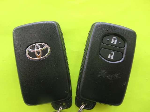 ★スマ-トキ-★キーはポケットの中やカバンの中のままでドアの開閉やエンジンのスタ-トが出来ます。
