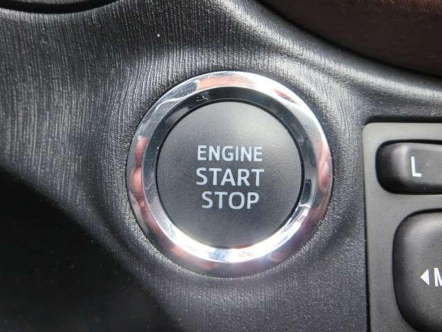 ★エンジンプッシュスタート★ キーはバックやポケットの中ボタンを押すだけで楽々エンジンスタ-ト。
