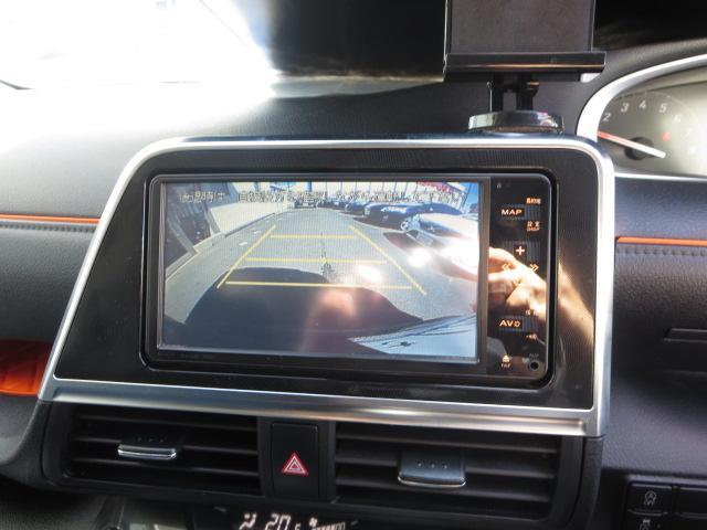 G ワンセグ HDDナビ DVD再生 後席モニター バックカメラ 衝突被害軽減システム ETC ドラレコ 両側電動スライド LEDヘッドランプ 乗車定員7人 3列シート ワンオーナー 記録簿(7枚目)