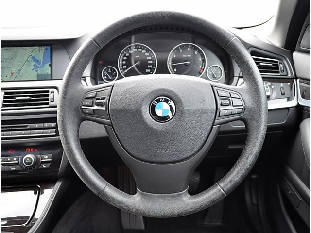BMW BMW 523i ハイラインパッケージ 黒革 SR 純正ナビ Bカメ