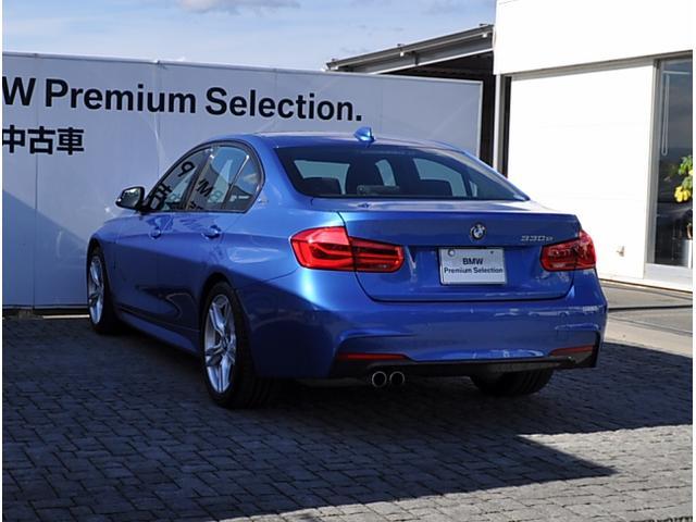 BMW BMW 330e デモカー Mスポーツ ACC 衝突軽減B LED