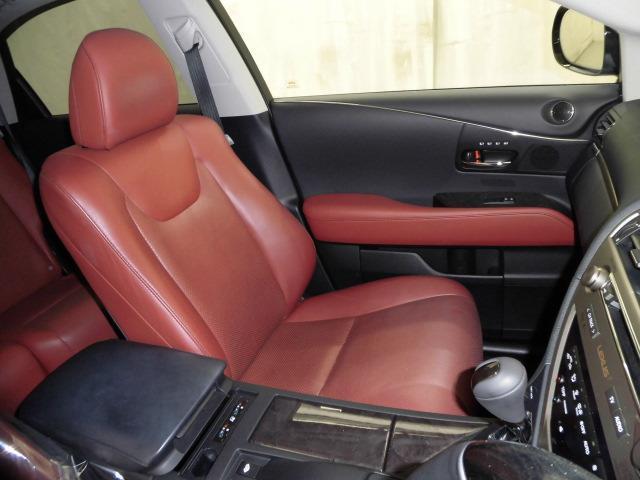 RX450hバージョンL 本革S サンルーフ 4WD LED(17枚目)