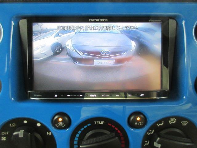 トヨタ FJクルーザー カラーパッケージ フルセグTV メモリーナビ バックモニター