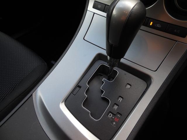 マニュアルモード付ATです!MT感覚でシフトチェンジできます。さらに、かっこいい!MT車が少なくなってきた現在に、面白さをとり入れた装備です。操作のしやすさにも定評があります。