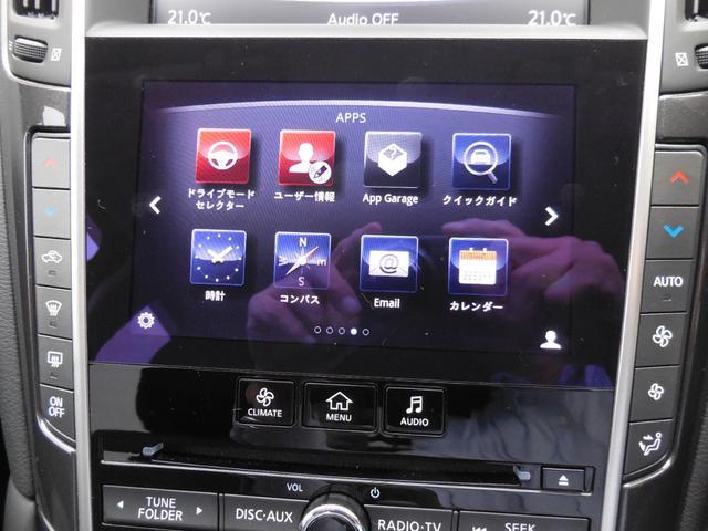 350GT ハイブリッド 純正HDDナビフルセグTV(16枚目)
