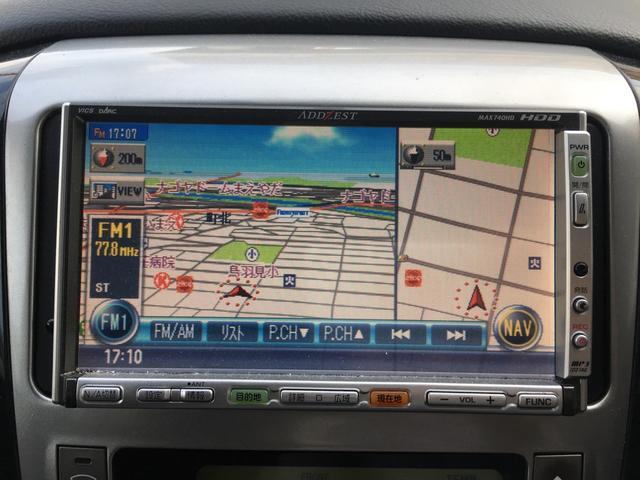 トヨタ アルファードV MS HDDナビ キーレス HID 両側スライドD Bカメラ