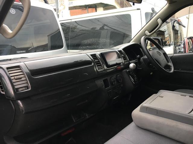 トヨタ ハイエースバン DX HDDナビTV CD DVD ウィンカーミラー