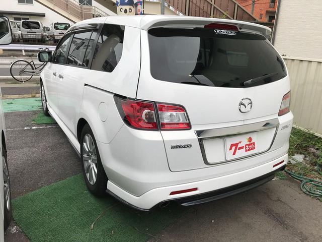 マツダ MPV 23S 両側電動スライドドア ナビTV HID AW