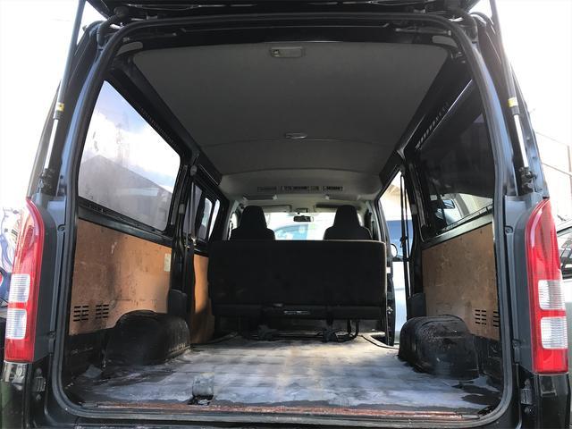 大容量のラケッジスペースは沢山の荷物を積み込む事が可能です!!