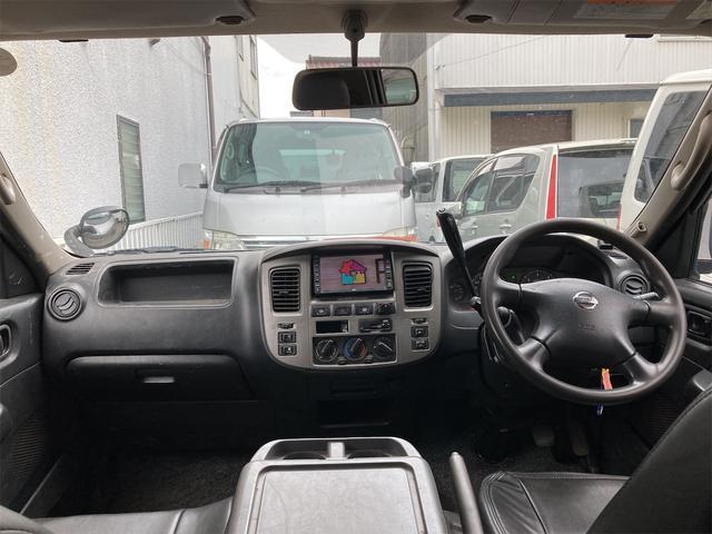 ロングDX 4WD 両側スライドドア ナビ バックカメラ AW ETC ワンボック 6名乗り AC オーディオ付(2枚目)