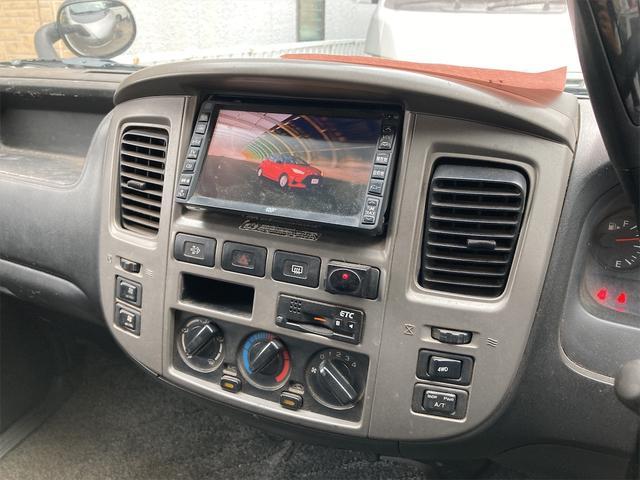 ロングDX 4WD 両側スライドドア ナビ バックカメラ AW ETC ワンボック 6名乗り AC オーディオ付(5枚目)