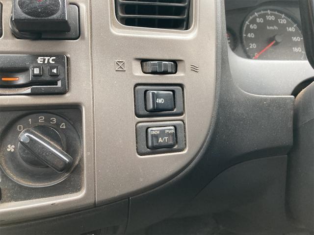 ロングDX 4WD 両側スライドドア ナビ バックカメラ AW ETC ワンボック 6名乗り AC オーディオ付(6枚目)