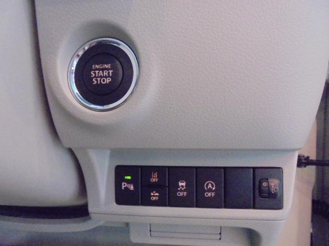 L 届出済み未使用車 スズキセーフティサポート付き スマートキー プッシュスタート(6枚目)