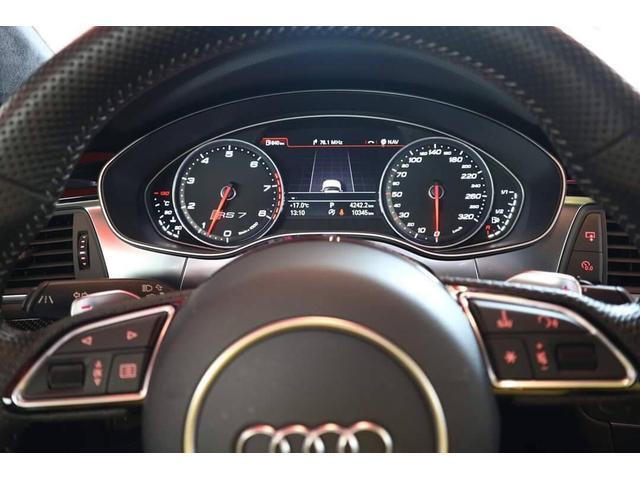 アウディ アウディ RS7スポーツバック 4.0 4WD 正規D車 プレセンスPKG 純正OP21AW