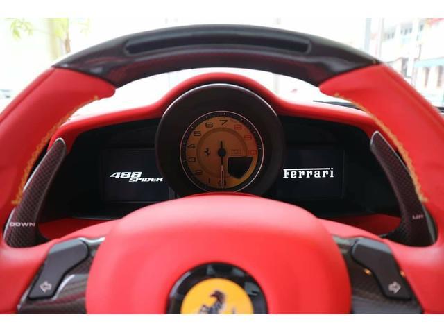 F1 DCT ロッソフェラーリインテリア ディーラー車(17枚目)