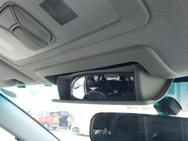 アエラス レザーパッケージ HDDナビTV レザーシート フリップダウンモニター 両側パワースライドドア(29枚目)