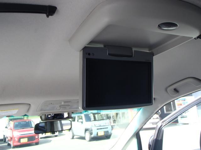アエラス レザーパッケージ HDDナビTV レザーシート フリップダウンモニター 両側パワースライドドア(35枚目)