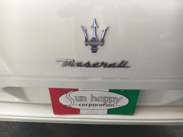 マセラティ マセラティ クアトロポルテ エボルツィオーネV8 セリエ・スペチアーレ