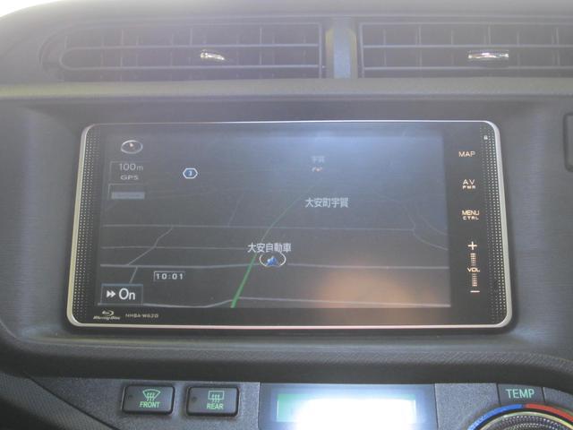 トヨタ アクア G HDDナビ 地デジ バックカメラ ETC オートエアコン