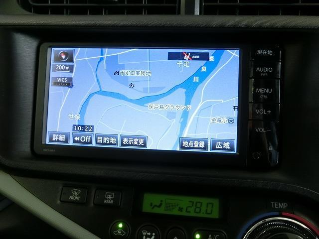 トヨタ アクア S ナビ バックカメラ ETC スマートキー
