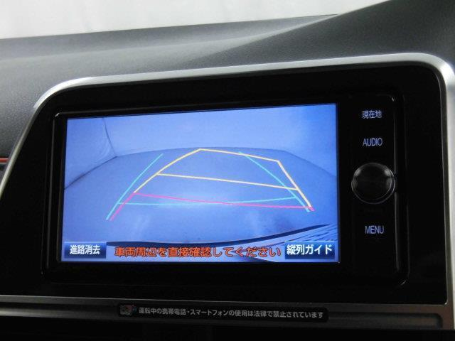 G フルセグ メモリーナビ DVD再生 ミュージックプレイヤー接続可 バックカメラ 衝突被害軽減システム ETC 両側電動スライド 乗車定員7人 3列シート アイドリングストップ(10枚目)