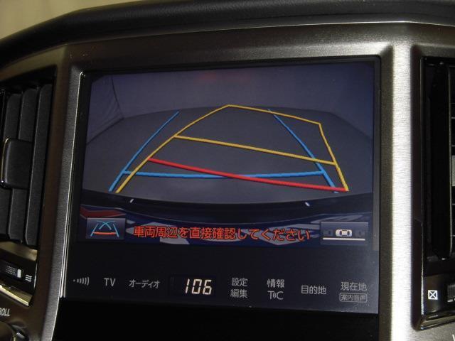 バックガイドモニターが付いてバック駐車を安全に行うことができます。