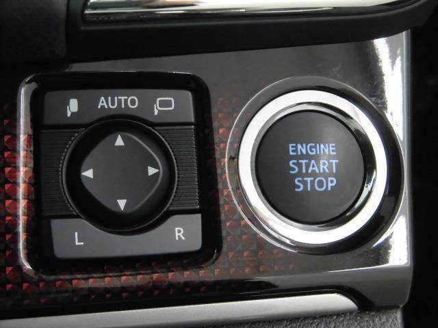 スタートスイッチをワンプッシュでエンジン簡単始動!