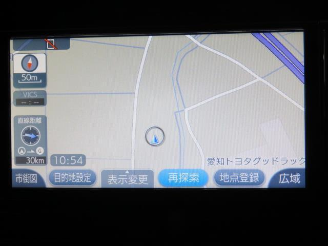 トヨタ プリウス Sツーリングセレクション 純正メモリーナビ・ワンセグTV