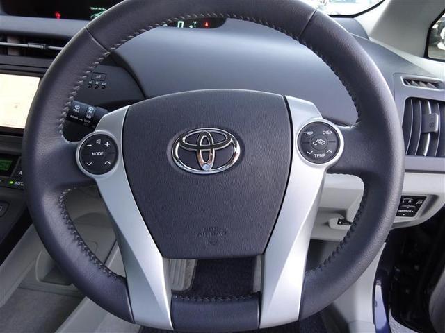 トヨタ プリウス S LEDエディション メモリーナビワンセグTVスマートキー