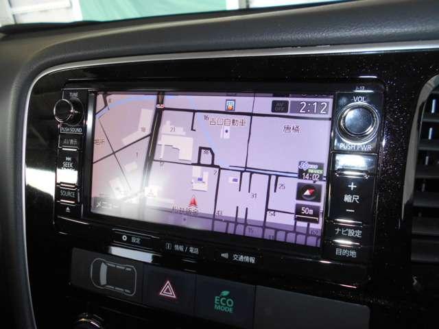三菱 アウトランダー 2.4 24G ナビパッケージ 4WD ETC