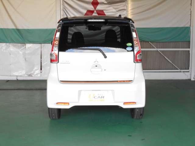 三菱 eKカスタム 660 アクティブギア 弊社社有車 自動ブレーキ アルミ
