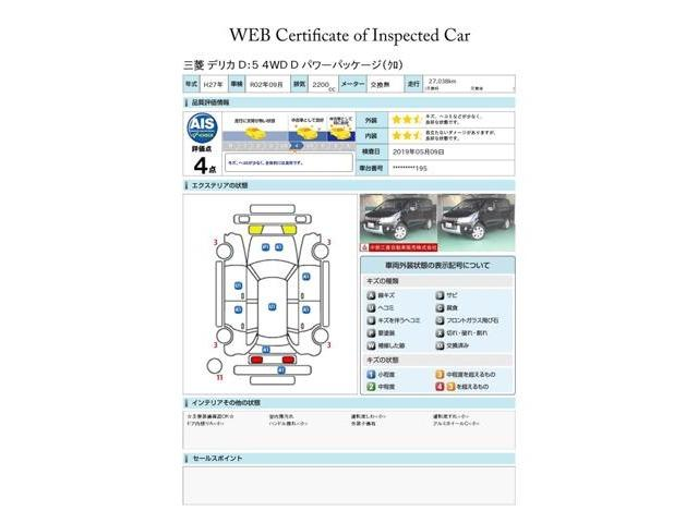 2.2 D パワーパッケージ ディーゼルターボ7人乗 4WD(2枚目)