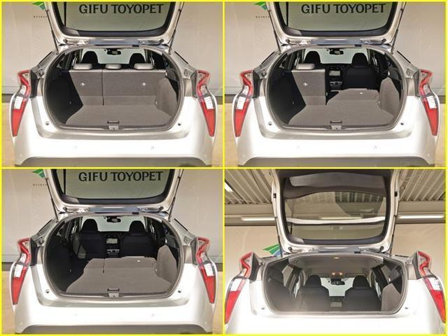 リヤシートをたためば、ラゲージスペースが広がり大きな荷物も積み込む事が出来ます!