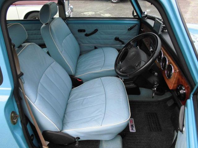 ローバー ローバー MINI メイフェア 1.3i 6ヶ月保証付 ボディ同色本革シート