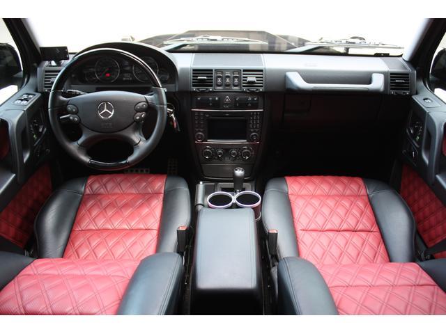 メルセデス・ベンツ M・ベンツ G550 ロング WALD BlackBison 赤黒レザー
