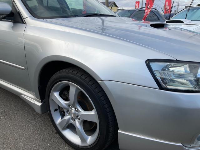 2.0GT アプライドA型GT・オプションDVDナビ・CDMD・ETC・パドルシフト・タイミングベルト交換済・入庫点検時O2センサー交換済・フロントリップスポイラー付き・純正17インチアルミホイール(18枚目)