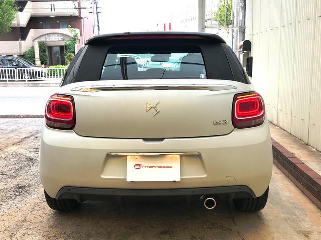 「シトロエン」「シトロエン DS3カブリオ」「コンパクトカー」「愛知県」の中古車7